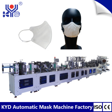 High Speed 2D Dust Folding Mask Machine